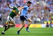 14 September 2019; Diarmuid Connolly of Dublin in action against Gavin White of Kerry during the GAA Football All-Ireland Senior Championship Final Replay between Dublin and Kerry at Croke Park in Dublin. Photo by Piaras Ó Mídheach/Sportsfile
