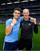 14 September 2019; Bernard Brogan of Dublin and selector Paul Clarke celebrate following the GAA Football All-Ireland Senior Championship Final Replay between Dublin and Kerry at Croke Park in Dublin. Photo by Seb Daly/Sportsfile