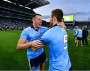 14 September 2019; Cormac Costello, left, and Jack McCaffrey of Dublin congratulate each other following the GAA Football All-Ireland Senior Championship Final Replay between Dublin and Kerry at Croke Park in Dublin. Photo by Seb Daly/Sportsfile