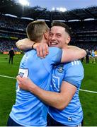 14 September 2019; Philip McMahon, right, and John Small of Dublin congratulate each other following the GAA Football All-Ireland Senior Championship Final Replay between Dublin and Kerry at Croke Park in Dublin. Photo by Seb Daly/Sportsfile