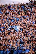 14 September 2019; Supporters on Hill 16 during the GAA Football All-Ireland Senior Championship Final Replay between Dublin and Kerry at Croke Park in Dublin. Photo by Stephen McCarthy/Sportsfile