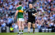 14 September 2019; Kerry team doctor Mike Finnerty during the GAA Football All-Ireland Senior Championship Final Replay between Dublin and Kerry at Croke Park in Dublin. Photo by Stephen McCarthy/Sportsfile