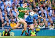 14 September 2019; David Clifford of Kerry in action against David Byrne of Dublin during the GAA Football All-Ireland Senior Championship Final Replay between Dublin and Kerry at Croke Park in Dublin. Photo by Stephen McCarthy/Sportsfile