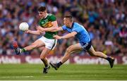 14 September 2019; Seán O'Shea of Kerry in action against Con O'Callaghan of Dublin during the GAA Football All-Ireland Senior Championship Final Replay between Dublin and Kerry at Croke Park in Dublin. Photo by Stephen McCarthy/Sportsfile