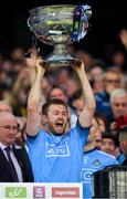 14 September 2019; Jack McCaffrey of Dublin lifts the Sam Maguie Cup following the GAA Football All-Ireland Senior Championship Final Replay between Dublin and Kerry at Croke Park in Dublin. Photo by Seb Daly/Sportsfile
