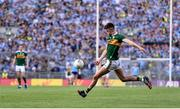 14 September 2019; Seán O'Shea of Kerry takes a free during the GAA Football All-Ireland Senior Championship Final Replay match between Dublin and Kerry at Croke Park in Dublin. Photo by Sam Barnes/Sportsfile