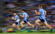 14 September 2019; Dublin players Dean Rock, left, Diarmuid Connolly, centre, and Con O'Callaghan during the GAA Football All-Ireland Senior Championship Final Replay match between Dublin and Kerry at Croke Park in Dublin. Photo by Ramsey Cardy/Sportsfile