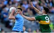 14 September 2019; Niall Scully of Dublin in action against Jack Barry of Kerry during the GAA Football All-Ireland Senior Championship Final Replay match between Dublin and Kerry at Croke Park in Dublin. Photo by Ramsey Cardy/Sportsfile