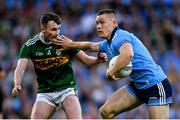 14 September 2019; Con O'Callaghan of Dublin in action against Tom O'Sullivan of Kerry during the GAA Football All-Ireland Senior Championship Final Replay match between Dublin and Kerry at Croke Park in Dublin. Photo by Ramsey Cardy/Sportsfile