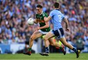 14 September 2019; David Clifford of Kerry in action against Michael Fitzsimons of Dublin during the GAA Football All-Ireland Senior Championship Final Replay match between Dublin and Kerry at Croke Park in Dublin. Photo by Sam Barnes/Sportsfile