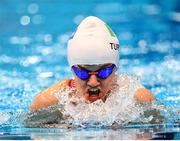 15 September 2019; Nicole Turner of Ireland competes in the heats of the Women's 100m Breaststroke SB6 during day seven of the World Para Swimming Championships 2019 at London Aquatic Centre in London, England. Photo by Tino Henschel/Sportsfile