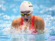 15 September 2019; Ellen Keane of Ireland competes in the heats of the Women's 100m Breaststroke SB8 during day seven of the World Para Swimming Championships 2019 at London Aquatic Centre in London, England. Photo by Tino Henschel/Sportsfile
