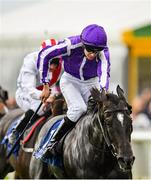15 September 2019; So Perfect, with Donnacha O'Brien up, on their way to finishing second in the Derrinstown Stud Flying Five Stakes during Day Two of the Irish Champions Weekend at The Curragh Racecourse in Kildare. Photo by Seb Daly/Sportsfile