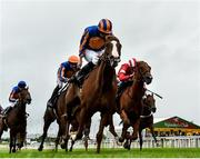 15 September 2019; Love, with Ryan Moore up, on their way to winning the Moyglare Stud Stakes during Day Two of the Irish Champions Weekend at The Curragh Racecourse in Kildare. Photo by Seb Daly/Sportsfile