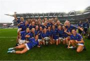 15 September 2019; Tipperary players celebrate following the TG4 All-Ireland Ladies Football Intermediate Championship Final match between Meath and Tipperary at Croke Park in Dublin. Photo by Stephen McCarthy/Sportsfile