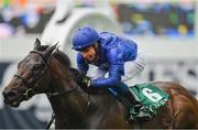 15 September 2019; Pinatubo, with William Buick up, on their way to winning the Goffs Vincent O'Brien National Stakes during Day Two of the Irish Champions Weekend at The Curragh Racecourse in Kildare. Photo by Seb Daly/Sportsfile