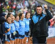 15 September 2019; Dublin manager Mick Bohan ahead of the TG4 All-Ireland Ladies Football Senior Championship Final match between Dublin and Galway at Croke Park in Dublin. Photo by Stephen McCarthy/Sportsfile