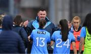 15 September 2019; Dublin manager Mick Bohan before the TG4 All-Ireland Ladies Football Senior Championship Final match between Dublin and Galway at Croke Park in Dublin. Photo by Piaras Ó Mídheach/Sportsfile