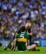 14 September 2019; Paul Murphy of Kerry receives medical attention during the GAA Football All-Ireland Senior Championship Final Replay match between Dublin and Kerry at Croke Park in Dublin. Photo by David Fitzgerald/Sportsfile