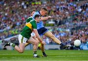 14 September 2019; Con O'Callaghan of Dublin in action against Tom O'Sullivan of Kerry during the GAA Football All-Ireland Senior Championship Final Replay between Dublin and Kerry at Croke Park in Dublin. Photo by Seb Daly/Sportsfile
