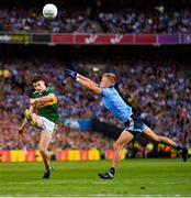 14 September 2019; Paul Geaney of Kerry in action against Jonny Cooper of Dublin during the GAA Football All-Ireland Senior Championship Final Replay between Dublin and Kerry at Croke Park in Dublin. Photo by Seb Daly/Sportsfile