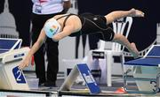 15 September 2019: Ellen Keane of Ireland competes in the final of the Women's 100m Breaststroke during day seven of the World Para Swimming Championships 2019 at London Aquatic Centre in London, England. Photo by Tino Henschel/Sportsfile