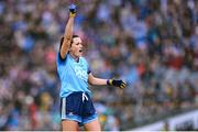15 September 2019; Niamh McEvoy of Dublin celebrates during the TG4 All-Ireland Ladies Football Senior Championship Final match between Dublin and Galway at Croke Park in Dublin. Photo by Emma Meyler/Sportsfile