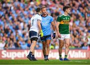 14 September 2019; Stephen Cluxton of Dublin speaking with team-mate Jonny Cooper during the GAA Football All-Ireland Senior Championship Final Replay match between Dublin and Kerry at Croke Park in Dublin. Photo by Eóin Noonan/Sportsfile