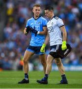 14 September 2019; Jonny Cooper, left, and Stephen Cluxton of Dublin during the GAA Football All-Ireland Senior Championship Final Replay match between Dublin and Kerry at Croke Park in Dublin. Photo by Eóin Noonan/Sportsfile
