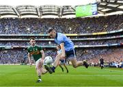 14 September 2019; Ciarán Kilkenny of Dublin in action against Tom O'Sullivan of Kerry during the GAA Football All-Ireland Senior Championship Final Replay match between Dublin and Kerry at Croke Park in Dublin. Photo by Eóin Noonan/Sportsfile