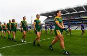 15 September 2019; Shauna Ennis of Meath during the TG4 All-Ireland Ladies Football Intermediate Championship Final match between Meath and Tipperary at Croke Park in Dublin. Photo by Stephen McCarthy/Sportsfile