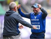 15 September 2019; Tipperary manager Shane Ronayne celebrates following the TG4 All-Ireland Ladies Football Intermediate Championship Final match between Meath and Tipperary at Croke Park in Dublin. Photo by Stephen McCarthy/Sportsfile
