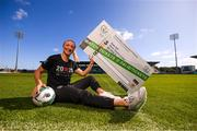 17 September 2019; Republic of Ireland international Louise Quinn at the launch of ticket sales for Republic of Ireland's UEFA Women's EURO 2021 Qualifier against Ukraine, in partnership with the 20x20 campaign, at Tallaght Stadium in Dublin. Tickets are now available at fai.ie/tickets  Photo by Stephen McCarthy/Sportsfile