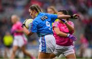 15 September 2019; Action from the Gaelic 4 Mothers & Other's match featuring Galbally, Co Tyrone, and Murroe Boher, Co Limerick, during the TG4 All-Ireland Ladies Football Championship Final Day at Croke Park in Dublin. Photo by Stephen McCarthy/Sportsfile
