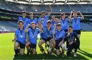 17 September 2019; The Dublin boys team celebrate with the cup after winning the M.Donnelly GAA Football for ALL Interprovincial Finals at Croke Park in Dublin. Photo by Sam Barnes/Sportsfile