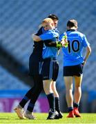 17 September 2019; Shane Elliott, right, and Ryan Curley of Dublin celebrate winning their final during the M.Donnelly GAA Football for ALL Interprovincial Finals at Croke Park in Dublin. Photo by Sam Barnes/Sportsfile