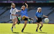 17 September 2019; Kate O'Brien of Dublin in action against Emma O'Brien of Connacht during the M.Donnelly GAA Football for ALL Interprovincial Finals at Croke Park in Dublin. Photo by Sam Barnes/Sportsfile