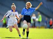 17 September 2019; Leah Clarke of Dublin in action against Emma O'Brien of Connacht during the M.Donnelly GAA Football for ALL Interprovincial Finals at Croke Park in Dublin. Photo by Sam Barnes/Sportsfile