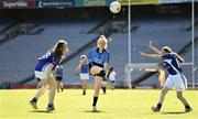 17 September 2019; Leah Clarke of Dublin in action against Susanne Mellerick, left, and Lauragh McGuire of Munster during the M.Donnelly GAA Football for ALL Interprovincial Finals at Croke Park in Dublin. Photo by Sam Barnes/Sportsfile