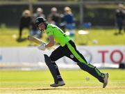17 September 2019; Harry Tector of Ireland plays a shot during the T20 International Tri Series match between Ireland and Scotland at Malahide Cricket Club in Dublin. Photo by Seb Daly/Sportsfile
