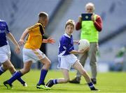 17 September 2019; Niall Flanagan of Munster in action against Jay Maguire of Ulster during the M.Donnelly GAA Football for ALL Interprovincial Finals at Croke Park in Dublin. Photo by Sam Barnes/Sportsfile