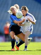 17 September 2019; Caitlin Mulligan of Dublin in action against Emma O'Brien of Connacht during the M.Donnelly GAA Football for ALL Interprovincial Finals at Croke Park in Dublin. Photo by Sam Barnes/Sportsfile