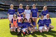 17 September 2019; The Munster girls team ahead of their final during the M.Donnelly GAA Football for ALL Interprovincial Finals at Croke Park in Dublin. Photo by Sam Barnes/Sportsfile