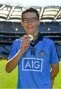 17 September 2019; Jack Curran with his medal following the M.Donnelly GAA Football for ALL Interprovincial Finals at Croke Park in Dublin. Photo by Sam Barnes/Sportsfile
