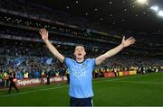 14 September 2019; Brian Fenton of Dublin celebrates following the GAA Football All-Ireland Senior Championship Final Replay match between Dublin and Kerry at Croke Park in Dublin. Photo by Ramsey Cardy/Sportsfile