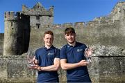 18 September 2019; In attendance at the Bord Gáis Energy U-20 Player of the Year Award winners' announcement in Cahir, Co. Tipperary are Tipperary's Jerome Cahil, left, and Kerry's Michael Slattery. Jerome Cahill has been named the 2019 Bord Gáis Energy U-20 Player of the Year while Michael Slattery has been named the stand-out player from the 2019 Richie McElligott Cup. Photo by Piaras Ó Mídheach/Sportsfile