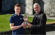 18 September 2019; Tipperary's Jerome Cahill receives the 2019 Bord Gáis Energy U-20 Player of the Year Award from Chair of the Bord Gáis Energy U-20 Player of the Year Awards committee, Ger Cunningham. The Kilruane MacDonagh's man was influential for Liam Cahill's side this summer as they claimed the first All-Ireland title at the new U-20 grade. Photo by Piaras Ó Mídheach/Sportsfile