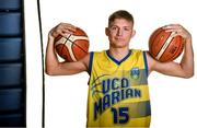 18 September 2019; Igor Markiewicz of UCD Marian pictured at the 2019/2020 Basketball Ireland Season Launch and Hula Hoops National Cup draw at the National Basketball Arena in Tallaght, Dublin. Photo by Sam Barnes/Sportsfile