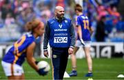 15 September 2019; Shane Ronayne of Tipperary before the TG4 All-Ireland Ladies Football Intermediate Championship Final match between Meath and Tipperary at Croke Park in Dublin. Photo by Piaras Ó Mídheach/Sportsfile
