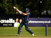 19 September 2019; George Munsey of Scotland bats during the T20 International Tri Series match between Scotland and Netherlands at Malahide Cricket Club in Dublin. Photo by Harry Murphy/Sportsfile